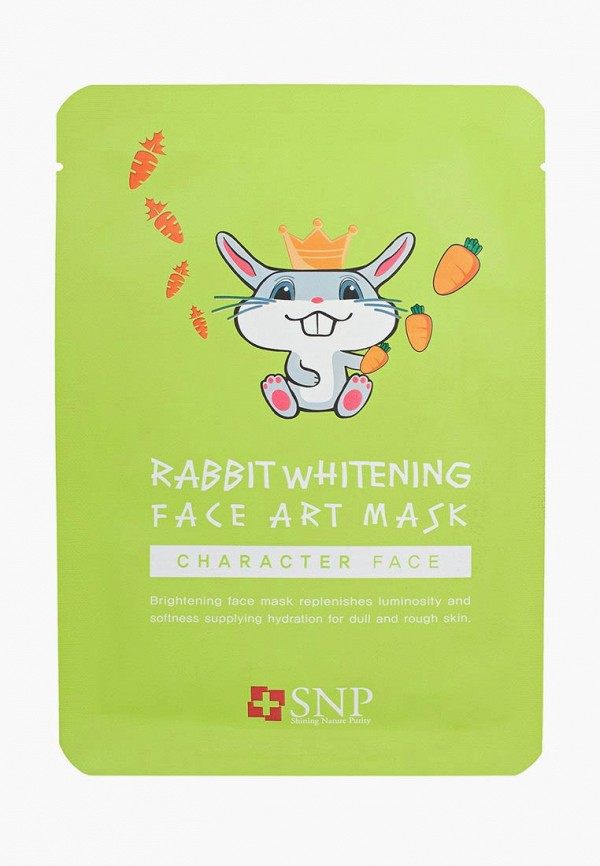 Купить Маска для лица SNP, осветляющая, 25 мл, sn005lwauoh4, прозрачный, Весна-лето 2019