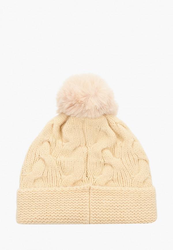 Фото 2 - Женскую шапку Snow Airwolf бежевого цвета