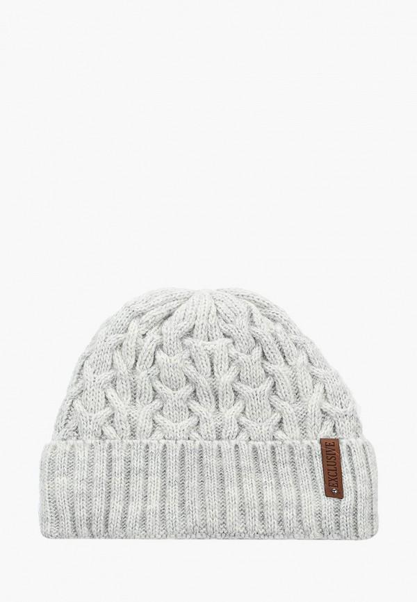 Фото - Женскую шапку Snow Airwolf серого цвета