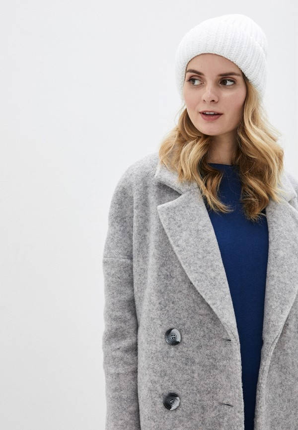 Фото 3 - Женскую шапку Snow Airwolf белого цвета