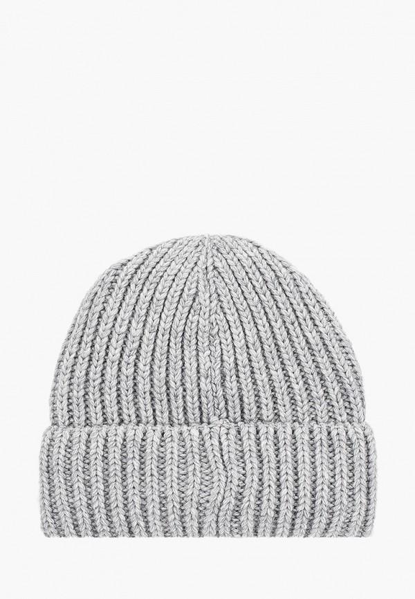 Фото 2 - Женскую шапку Snow Airwolf серого цвета
