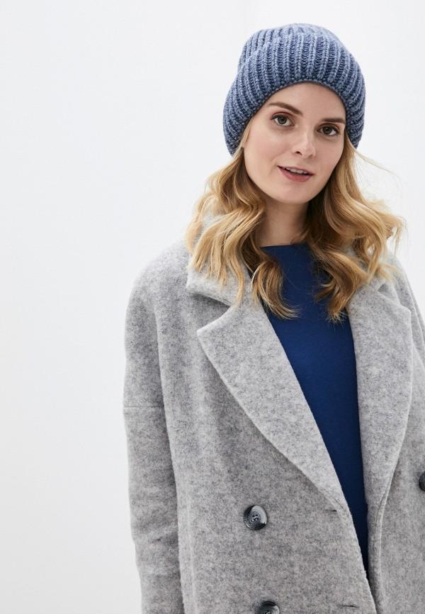 Фото 3 - Женскую шапку Snow Airwolf синего цвета