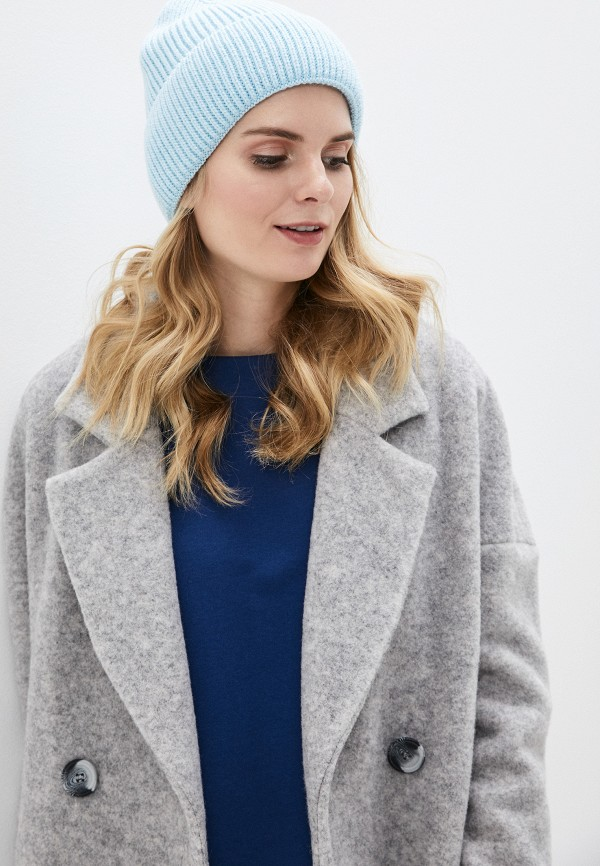 Фото 3 - Женскую шапку Snow Airwolf голубого цвета