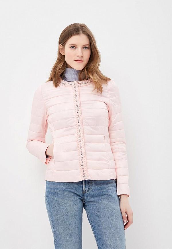 Купить Куртка утепленная Softy, so017ewavxs7, розовый, Весна-лето 2018