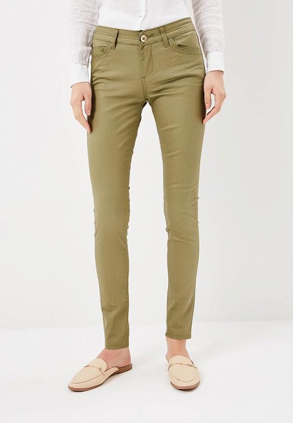 женские повседневные брюки softy, хаки