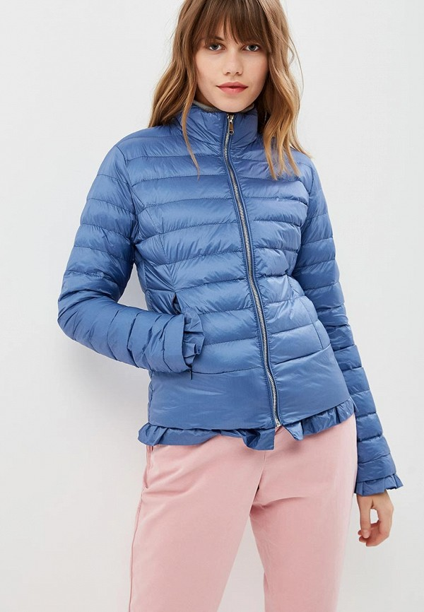 женская куртка softy, синяя