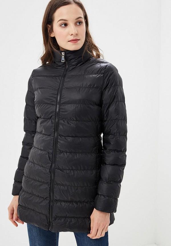 женская куртка softy, черная