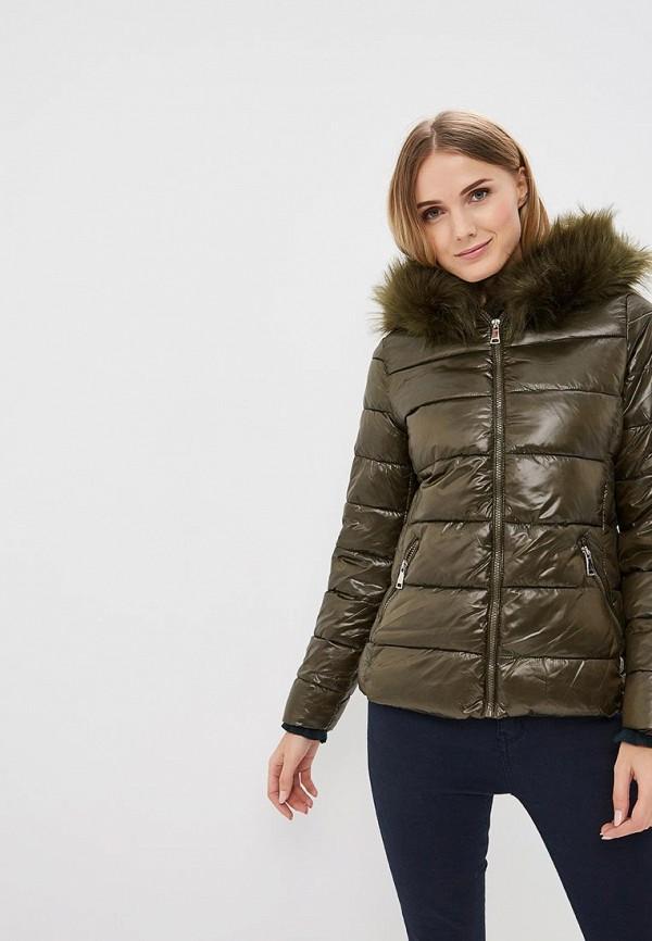 женская куртка softy, хаки