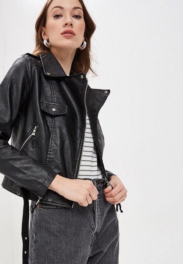Куртка кожаная Softy Softy SO017EWFBJV8 цена и фото