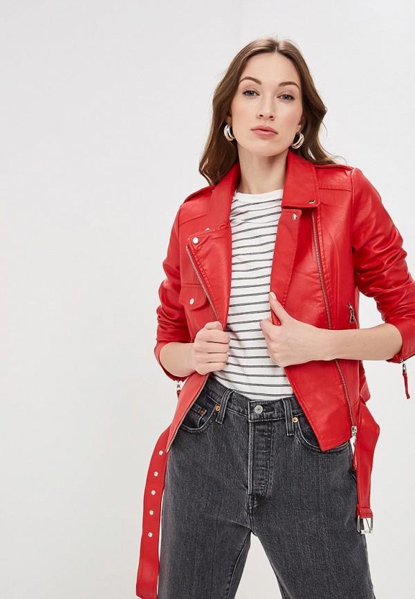 Куртка кожаная Softy Softy SO017EWFBJW1 цена и фото
