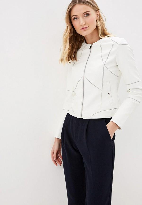 женская куртка softy, белая