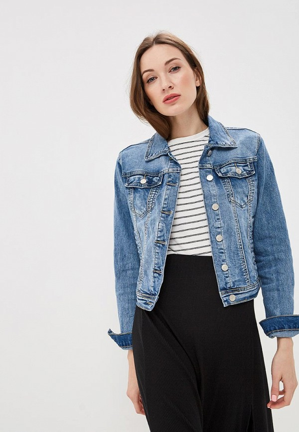 Куртка джинсовая Softy Softy SO017EWFBKB0 куртка джинсовая softy softy so017ewavxv8