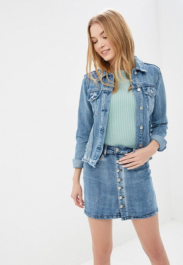 Куртка джинсовая Softy Softy SO017EWFBKB1 куртка джинсовая softy softy so017ewavxv8