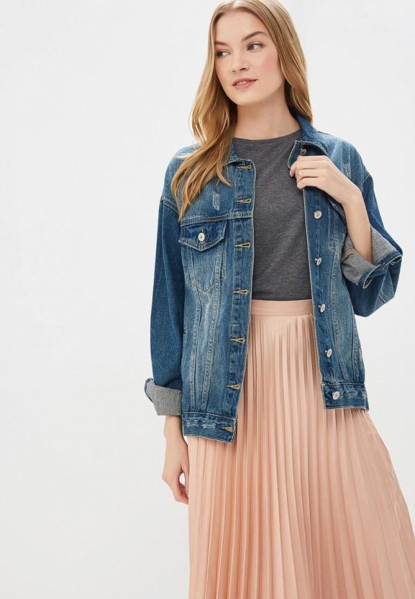 Куртка джинсовая Softy Softy SO017EWFBKB2 цена