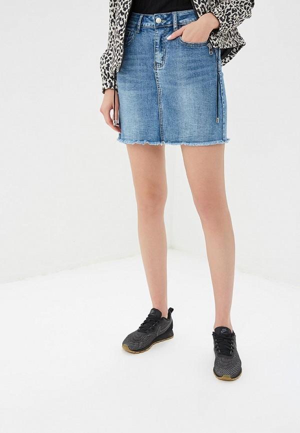 Юбка джинсовая Softy Softy SO017EWFBKC6 куртка джинсовая softy softy so017ewavxv8