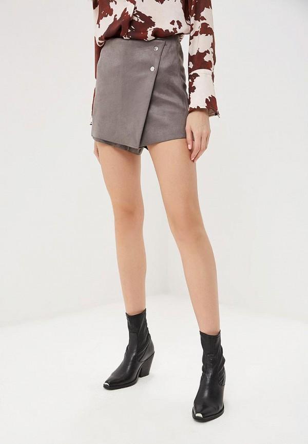 женская юбка softy, серая