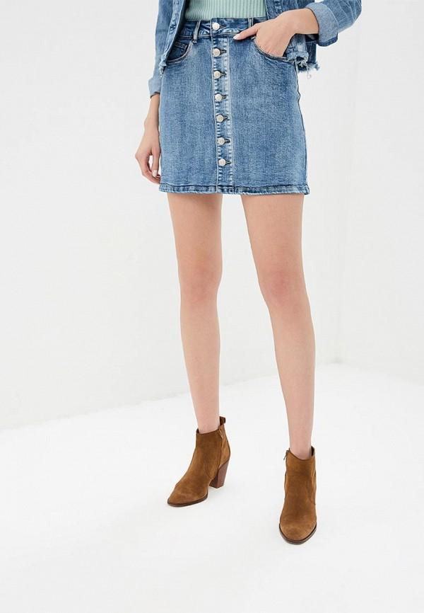 Юбка джинсовая Softy Softy SO017EWFBKE2 куртка джинсовая softy softy so017ewavxv8