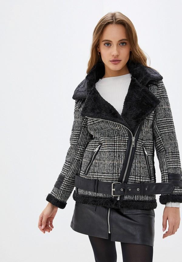женская куртка softy, серая