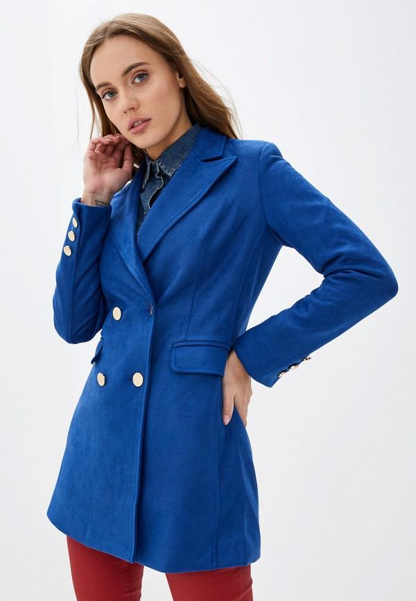 женский пиджак softy, синий