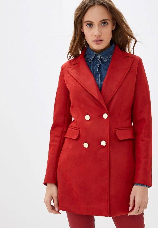 женский пиджак softy, красный