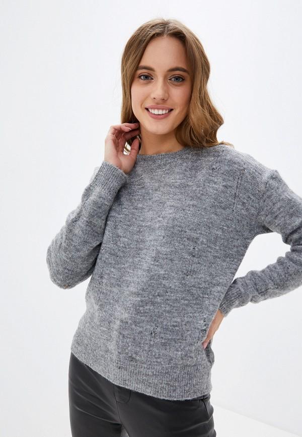 женский джемпер softy, серый