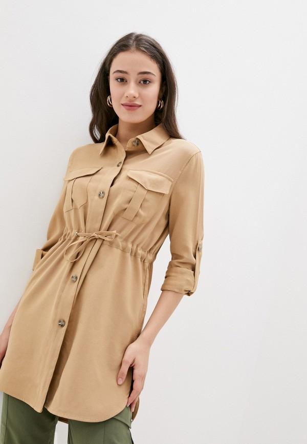 женская блузка softy, бежевая