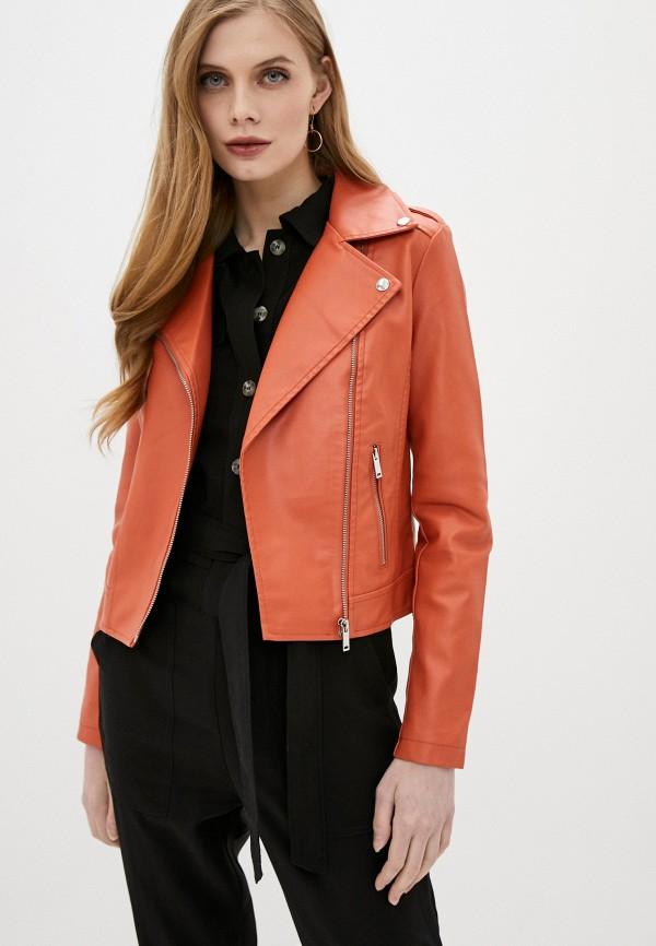 женская куртка softy, оранжевая
