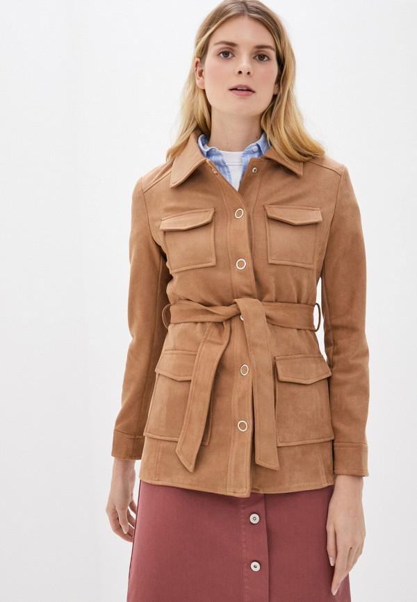 женская куртка softy, бежевая