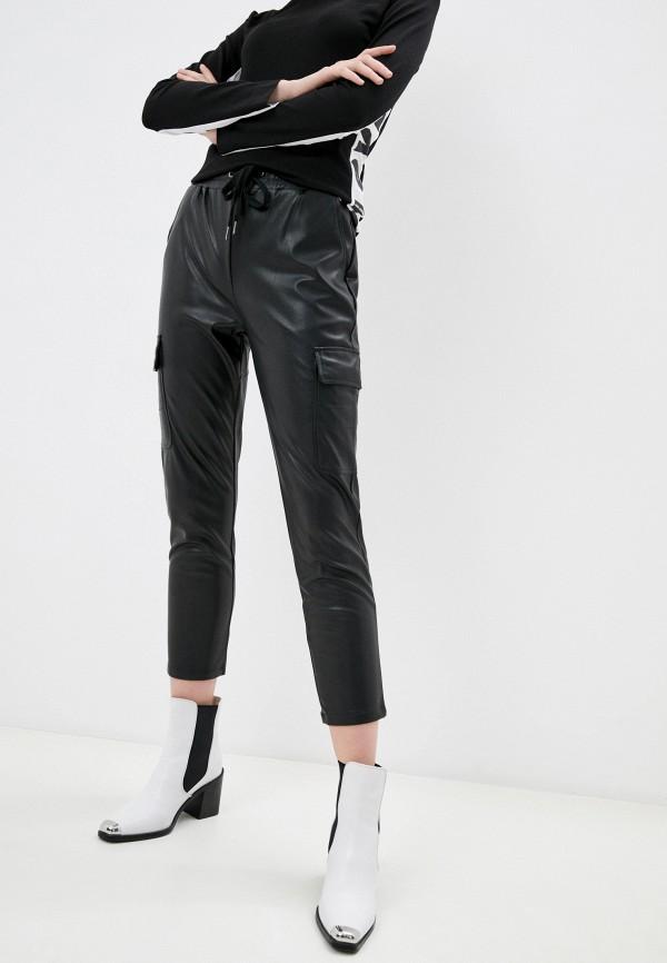 женские брюки softy, черные