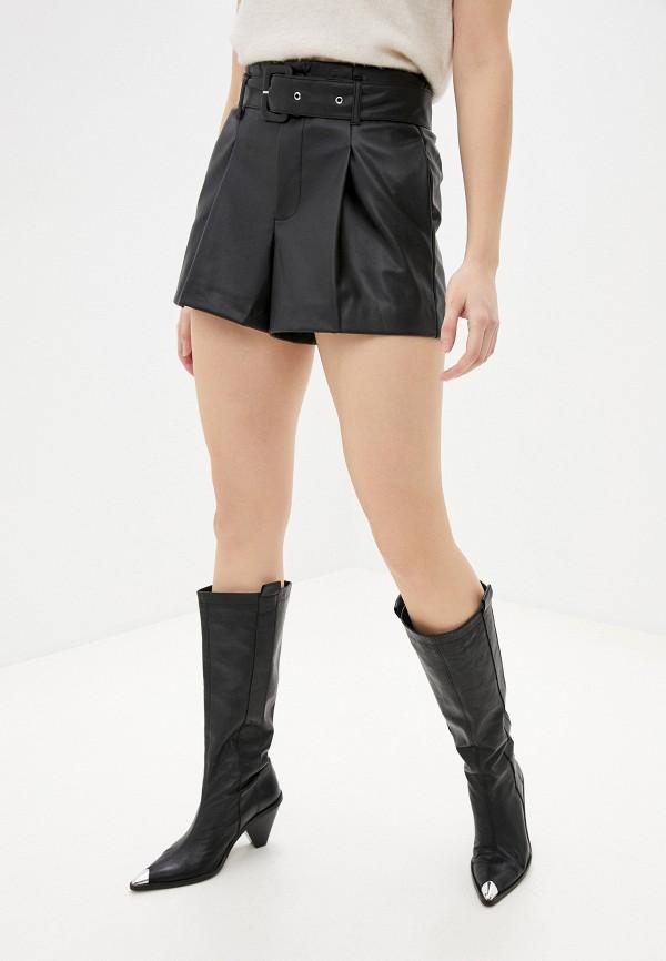 женские повседневные шорты softy, черные