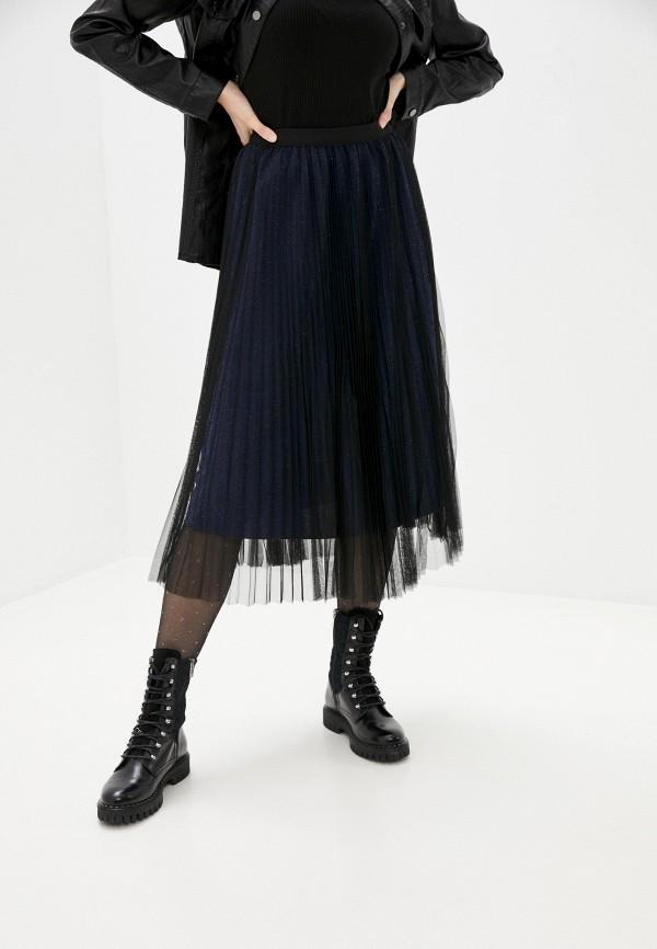 женская юбка softy, синяя