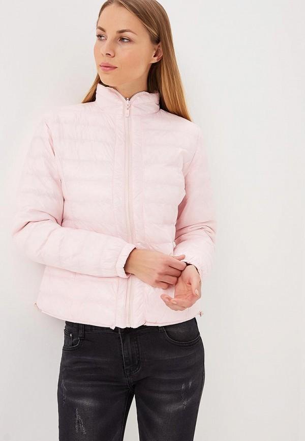 женская куртка softy, розовая