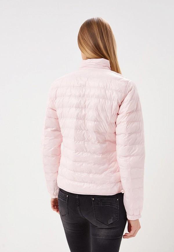 Фото 4 - Куртку утепленная Softy розового цвета