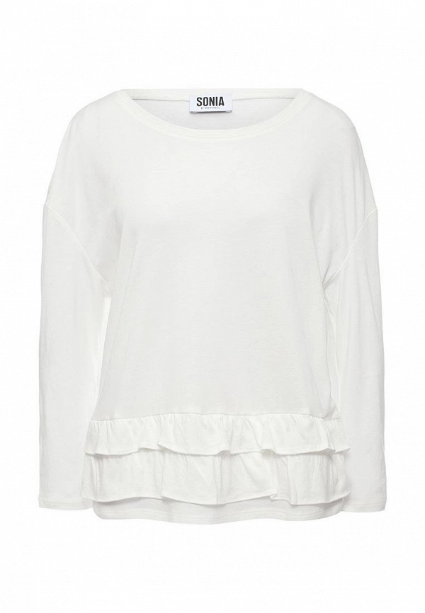 Лонгслив Sonia by Sonia Rykiel Sonia by Sonia Rykiel SO018EWOMU56 блуза sonia by sonia rykiel блузы с рукавом классической формы