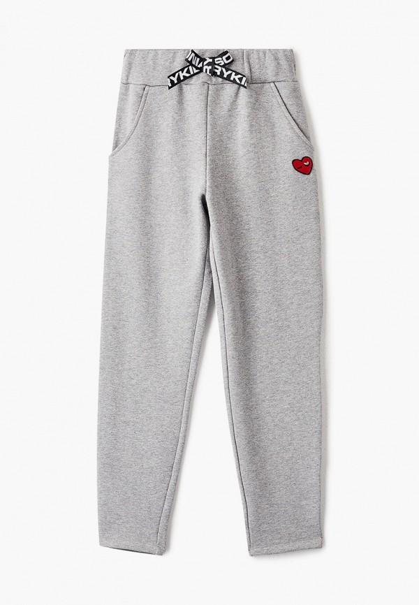 спортивные брюки sonia rykiel для девочки, серые