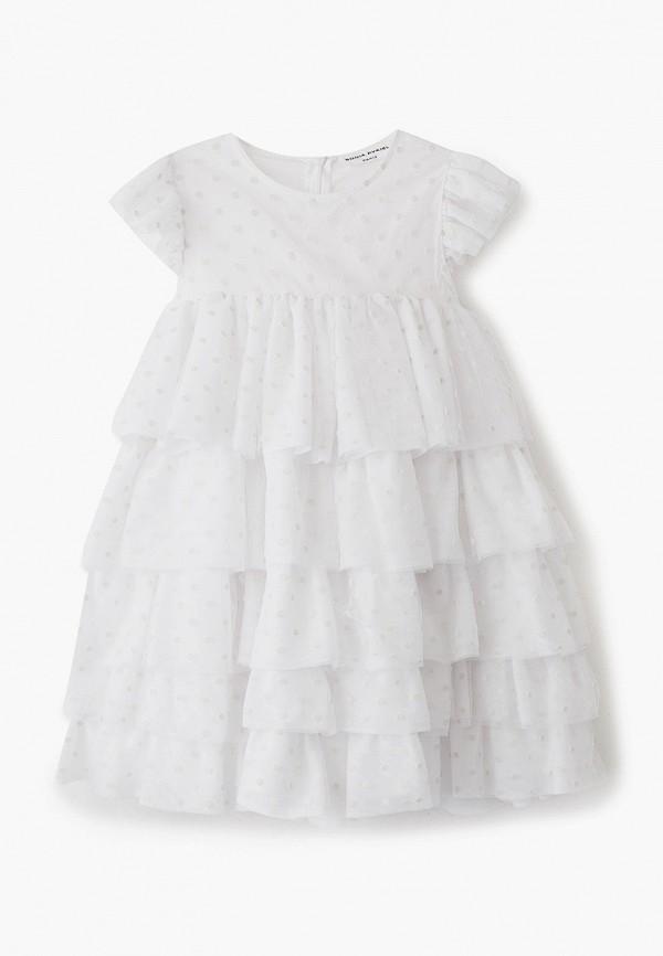 платье sonia rykiel для девочки, белое
