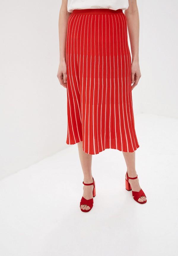 женская юбка sonia rykiel, красная