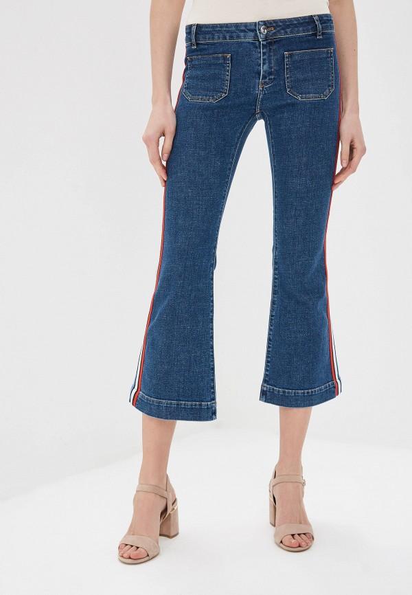 женские джинсы клеш sonia rykiel, синие