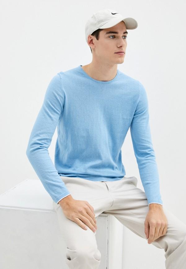 мужской джемпер s.oliver, голубой