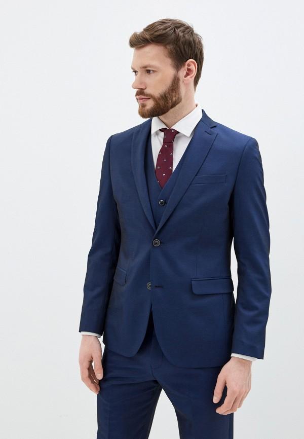 мужской пиджак s.oliver, синий