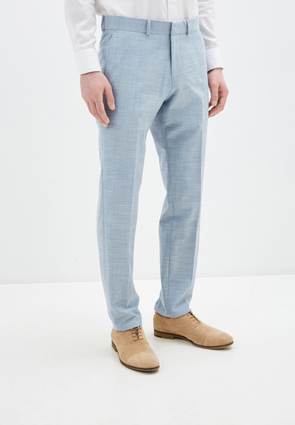 мужские классические брюки s.oliver, голубые