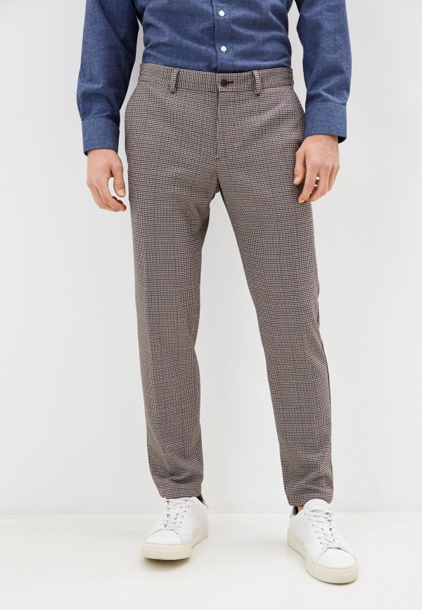мужские классические брюки s.oliver, бежевые