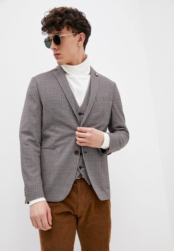 мужской пиджак s.oliver, бежевый
