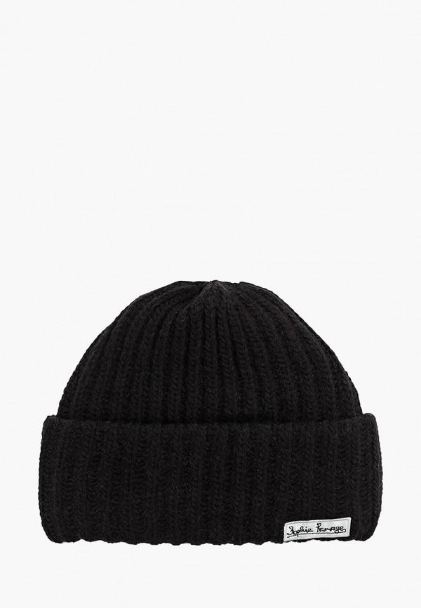 женская шапка sophie ramage, черная