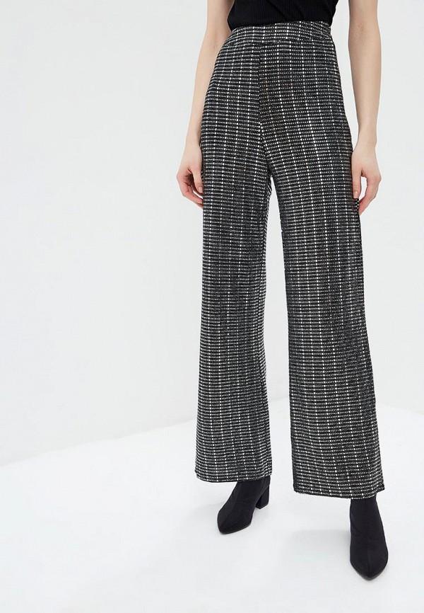 женские повседневные брюки soky & soka, черные