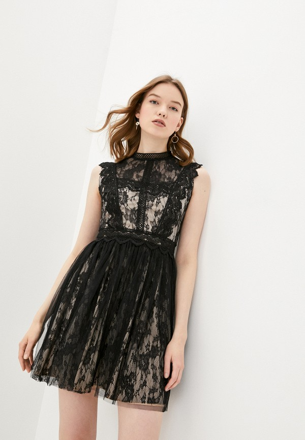 женское вечерние платье soky & soka, черное