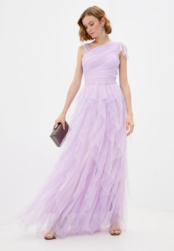 женское вечерние платье soky & soka, фиолетовое