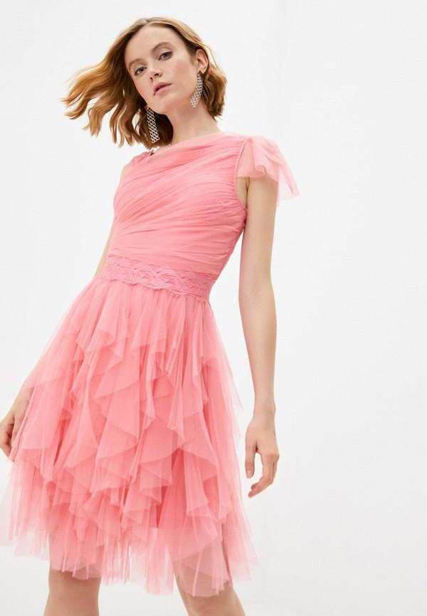 женское вечерние платье soky & soka, бежевое