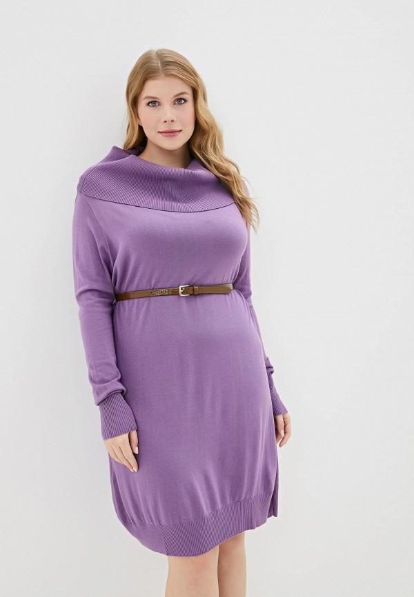 женское платье sophia, фиолетовое