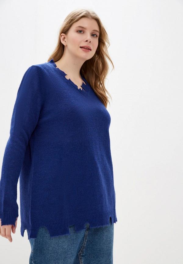 женский пуловер sophia, синий